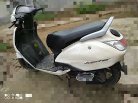 Jupiter sale in just 28000/- with new rear tyre and fully insured