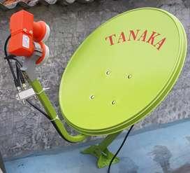 GT Parabola mini anten tv digital kinclong bebas bulanan