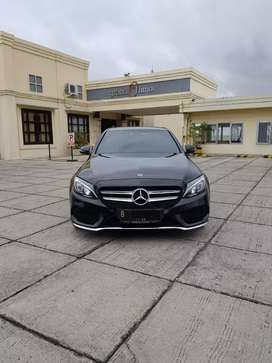Mercedes Benz C300 AMG Line ATPM Black 2017 2rb Warranty20 Focus Wtc