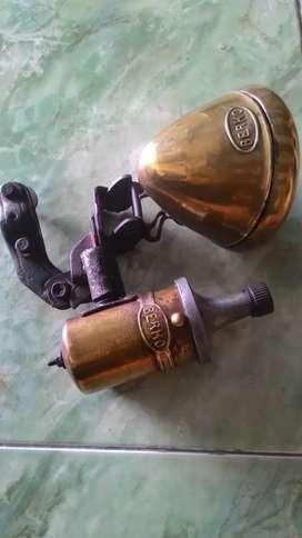 Lampu sepeda merk Berko kuningan