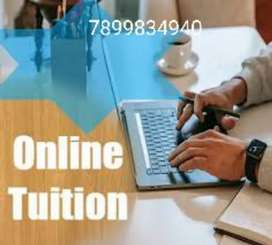 Online tutions are given for accounts,business studies and economic