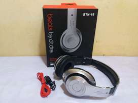 Headphone STN-16 Bluetooth + Batre Charger + Mic + Radio + Sd Card