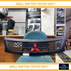 Grill triton 2017 raftor tersedia juga untuk mobil lainnya