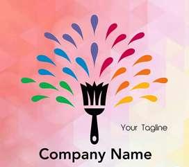 Graphics designer logo