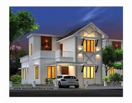 Low budget villa located at chelavoor.. where convinience meet luxury