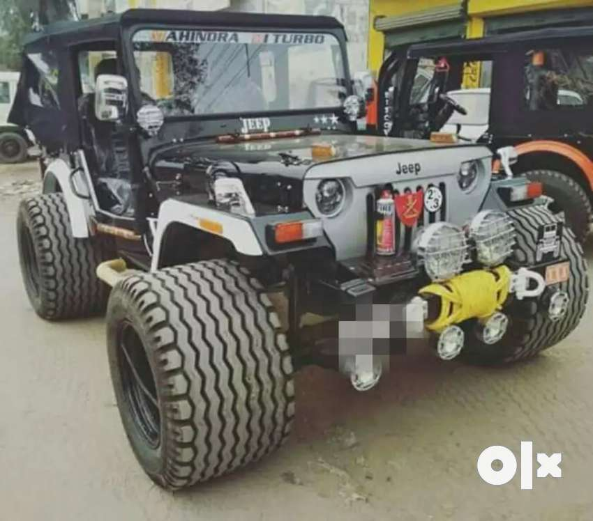 MAHINDRA Turbo stylish Jeep 0