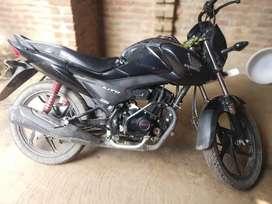 My new condition Honda livo less driven bike