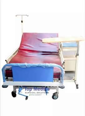 2 Cranks Manual Patient Bed Hospital equipment home use