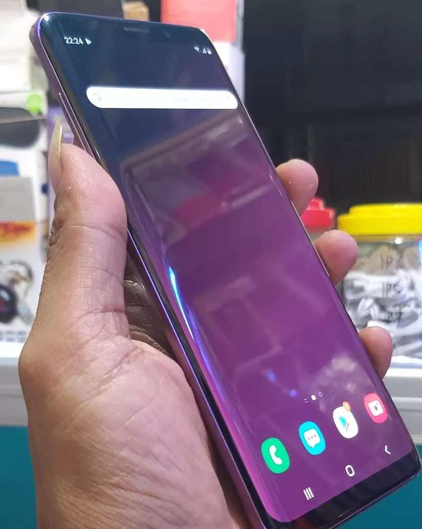 S9+ LiLac Purple 256gb Fullset Mulus 0