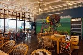Running Restaurant - Cafe for Sale in HSR Bangalore