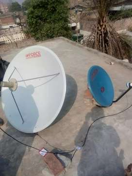 Dish antenna available  0316- 4217330