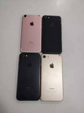 I phone 7 128gb all colors available