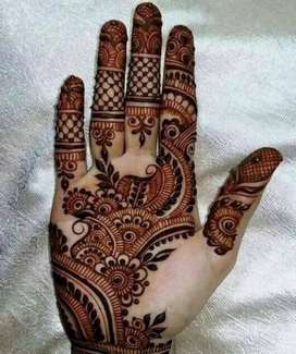 Want  Mehandi  design artists (female)