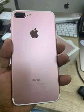 Apple iPhone 7puls 6rom 128gb condition ten by ten