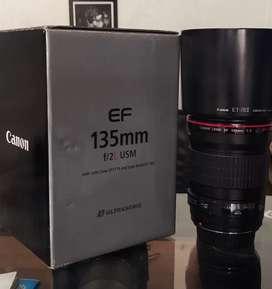 Canon 135 lence