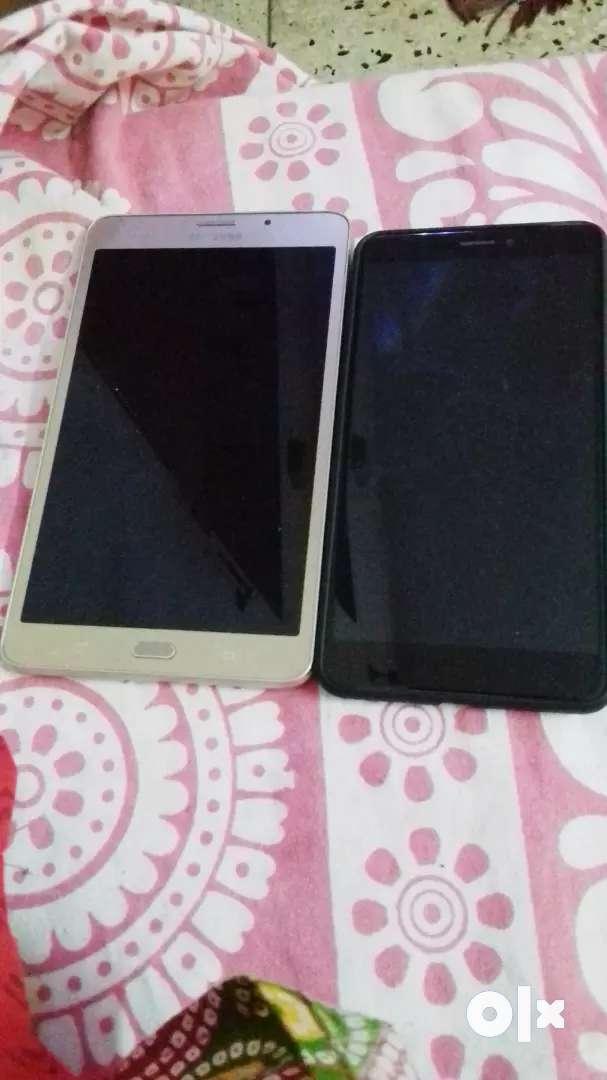 Samsung tab and mi max 2 0