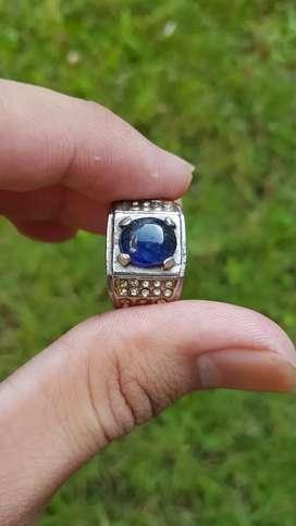 Batu Cincin Blue safir afrika