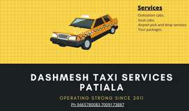 Dashmesh taxi services patiala