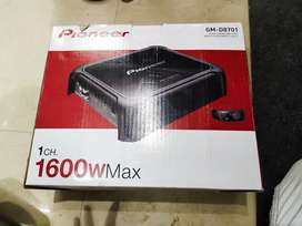 Pioneers mono amplifier 1600 watt with good quality and 1year warranty