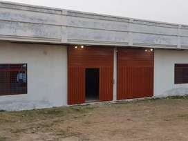 Commercial plot with hall for rent near Gt Road Rawat islamabad.