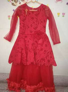 Charming Red Frock