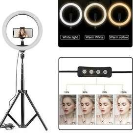 Ring Light Video Fotografer Live Streaming Tiktok Youtube lampu 26cm