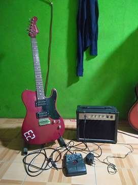 gitar ampli efek zoom harga di turunin lagi hehe