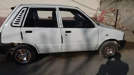 MEHRAN VX WHITE COLOUR 2006 MODEL 94000 KMs DRIVEN GENUINE CONDITION