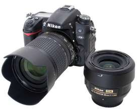 Nikon D7000 with 50mm Prime 1.8G lens