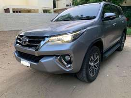 Fortuner 2017 Diesel 4*4 Automatic 23384 Kms Well Maintained