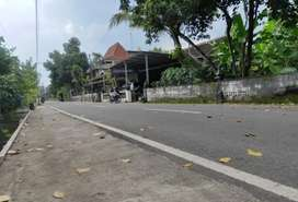 Tanah Murah strategis pinggir jalan utama Seputar Titibumi Jl. Godean