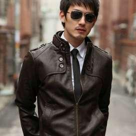 Jaket Kulit Pria Twoside Syntetic Korean Style – SK31