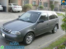 Suzuki Cultus 2010 get on easy monthly installment.