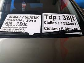 Wuling Almaz 7 seater 1.5 exclusive 2019 km low