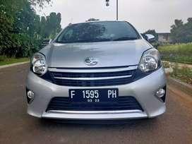 Toyota Agya type G AT 2017 gres kaya baru km 10rb