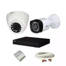 Dahua cctv camera 2 set