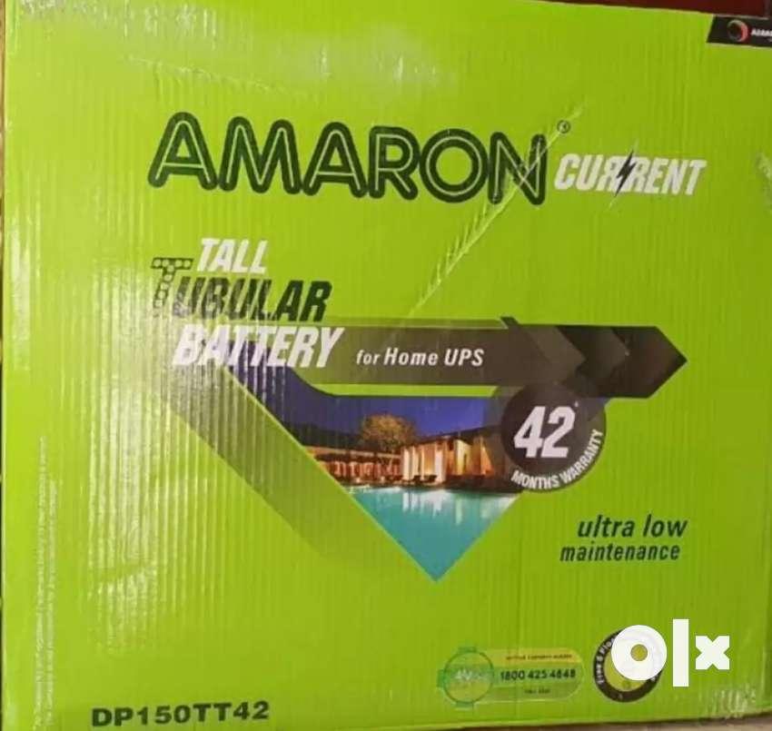 Amaron Tall Tubular Battery 150 ah 42* months warranty