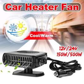2019 Online Store 12V Portable Car Vehicle Heating Cooling Heater Fan