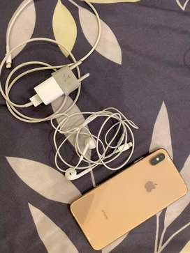 Iphone XS MAX rosegold  64GB ex International
