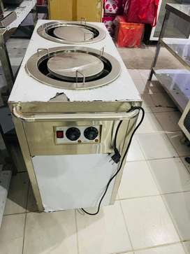 Imported plate warmer duel tank we hve pizza oven,deep fryer,counter