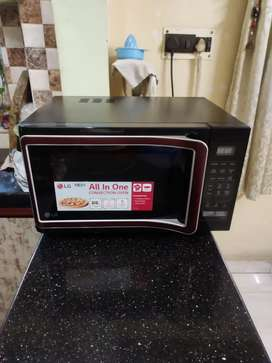 28 Ltr. LG Microwave with Convection all in one for sale.