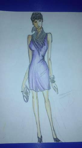 I my Self looking for Fashion designing job