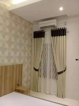 Minimalis Vitrase Gordeng Hordeng Gorden Curtain Gordyn Korden 678