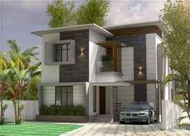 New house at karaparamb