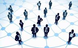 Networking work online selling products