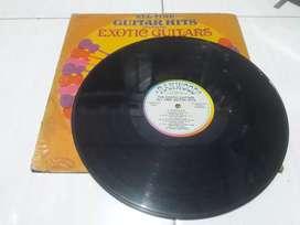 Piringan hitam / vinyl EXOTIC GUITAR vintage koleksi jadul lawas antik
