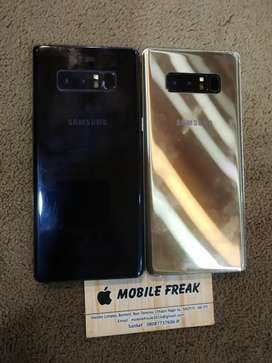Samsung Galaxy Note 8 6 64gb golden and black