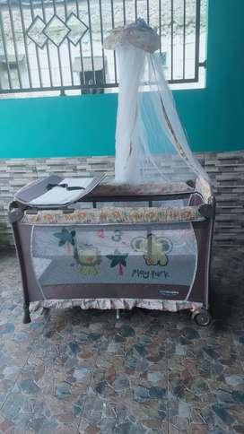 Box tidur bayi baru pakai 2 bulan saja