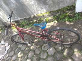 sepeda santai orens murah meriah siap pakai
