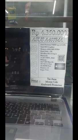 Cicilan tanpa kartu cc Laptop asus